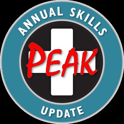PEAK Emergency Training Course Calendar